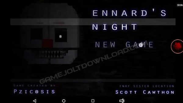 FNAF Ennard's Night Android