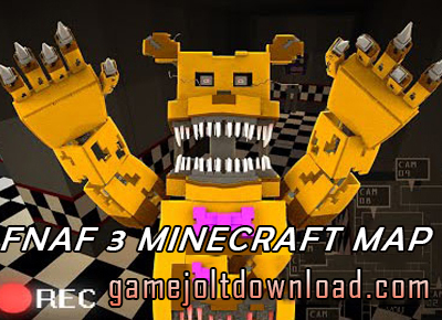 Five Nights At Freddy's 3 Minecraft Map - FNAF Gamejolt