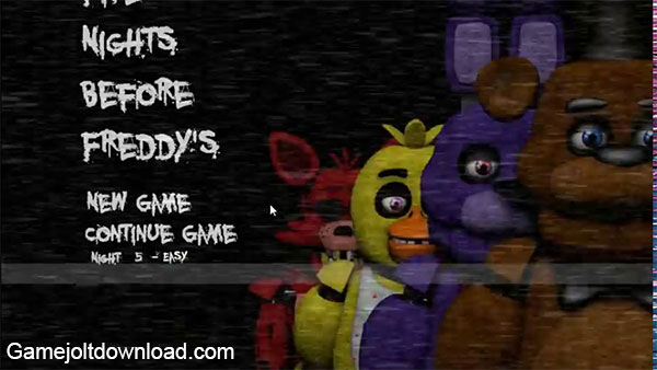 Five Nights Before Freddy's (Official) Game Jolt Download