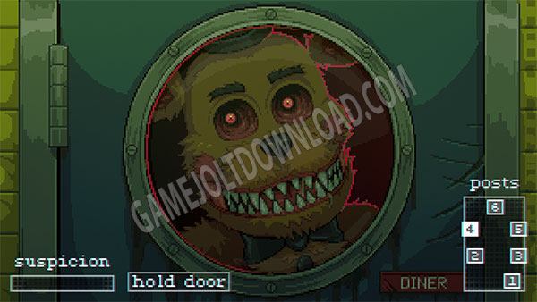 A Twisted Freddy Appearing at the west door