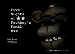 Five Nights at F***boy's: Final Mix
