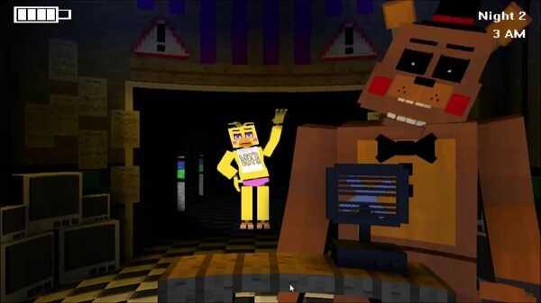 Five Nights in Minecraft: Remastered