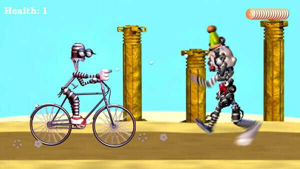 Baby's Nightmare Circus Bike Fighter