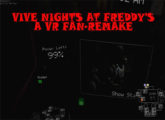 Vive Nights at Freddy's: A VR Fan-Remake